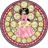 Queen Mimi - PK Stained Glass by Sakurarmarie