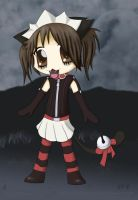 Creepy Kitty by quikshadow