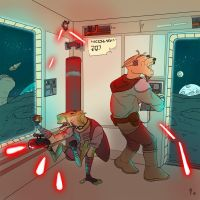 Drig and Asok's Daring Escape by Ryan-Rhodes