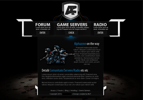 Counter Strike Splash Page by MsT4GFX
