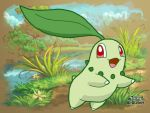 Chikorita by Katla-cat