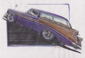 """The 2 Tone Nomad"" drawn by me by HorcikDesigns"