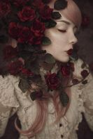 Red Roses - I by xKimJoanne