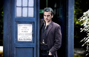 Peter Capaldi as The Doctor by HappyRussia