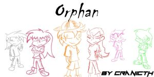Orphan Title cover by CranicTH