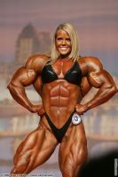 Female muscle 18 by BigDane