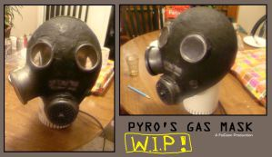 Pyro Gas Mask WIP by Feicoon