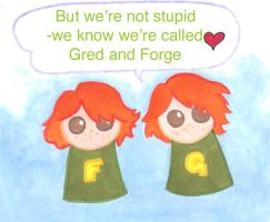 -Gred and Forge- by Svenly