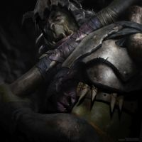 Orc - LOTR Warcraft Hybrid by vshen
