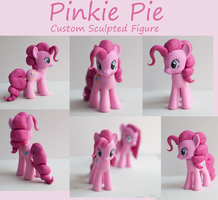 MLP: FiM Custom Sculpt Pinkie Pie by alltheApples