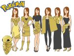 Pokemon fashion: Kakuna by Willemijn1991