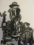 charcoal still life by ladyenchantress