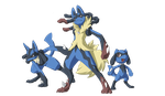 Super Hair, The Reckoning: Mega Lucario by Mewitti