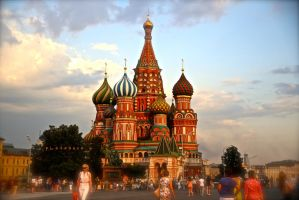 saint basil's cathedral by pLateauce