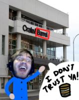 PewDiePie: Crate and Barrel by MAXIMUMRAY