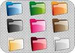 Rainbow folders by ilnanny