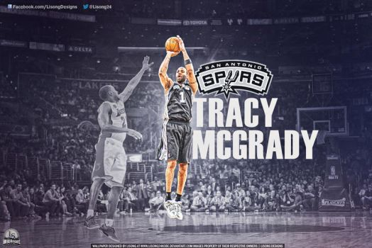 Tracy McGrady Spurs by lisong24kobe