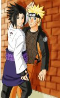 SasuNaru Fanfiction Frontpage by yryahuln
