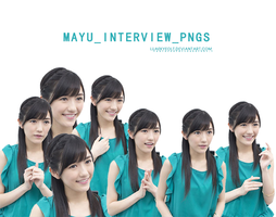 Mayu Interviews Png by Luaekyeolt