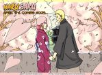 1st Illustration NaruSaku NEW DOUJINSHI April3rd by NaruSasuSaku91