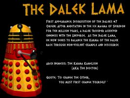 LXD Origins: The Dalek Lama by IcehawkPrime