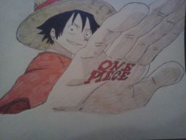 One Piece - Luffy by Cam-san