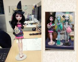 Eli, Kiyomi and Lagoona Blue Monster High by seawaterwitch