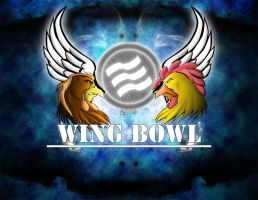 Wing Bowl Contest Poster by genryusai