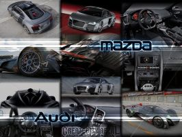 Cars Collage by AfzalivE