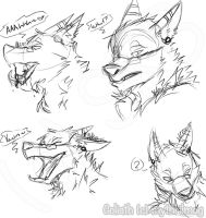 Goliath scribbles [vore/anthro] by MythrilMog