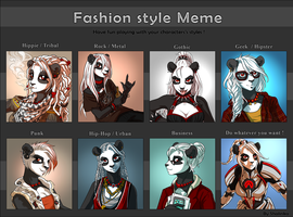 Fashion Style Meme Shali ! by Shalinka
