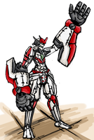 Big Arms Mecha by Endless-warr
