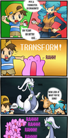 Ditto's wardrobe malfunction by thegamingdrawer