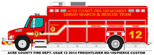 Acre County Fire Dept. USAR 12 by MisterPSYCHOPATH3001