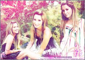 Ashley Tisdale's blend by anacarolgomes