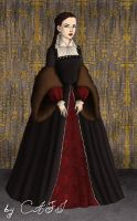 Queen Mary I Tudor by BellatrixStar88
