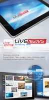 Live news ipad by REDFLOOD