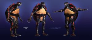Real TMNT Ninja Turtles concept art 2014 by onetruth