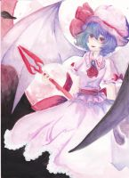 Remilia Scarlet by hamburgerpiez523