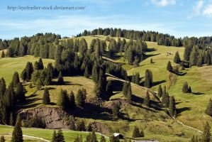 Alps by eyefeather-stock