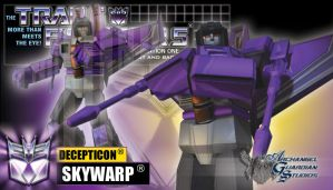 Skywarp by GeneralSoundwave