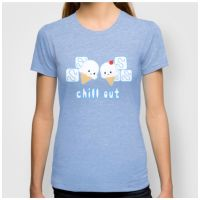 Chill Out Tshirt by Slothgirlart