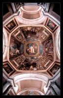 Painted Ceiling by BrightRedFox