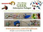 Geek subscription of awesome goodness by silverbeam