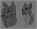 Sketch Headshots by GloriaJoy