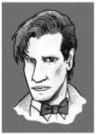 The 11th Doctor by mikedaws