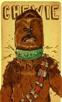 chewie enslaved. by MikeBear-A-Weanie