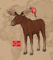 The World as Animals: Norway by thetourist93