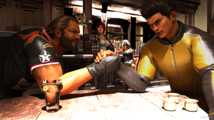 Arm wrestling - Dead Or Alive by James--C