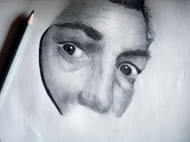 Salvador Dali WIP by iCasseith